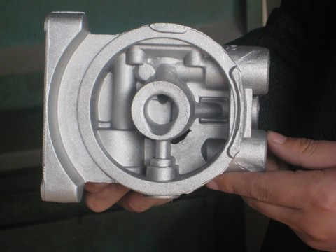 Земляная форма для литья алюминия